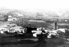1907. urtean inauguratu zuten eta Viteri jauna bertan izan zen